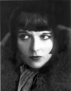 Louise Brooks / Born: Mary Louise Brooks, November 14, 1906 in Cherryvale, Kansas, USA / Died: August 8, 1985 (age 78) in Rochester, New York, USA