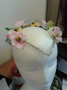 Spring Fairy tiara by Gemma Shore