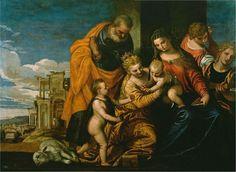 The Marriage of Saint Catherine (1580); Paolo Veronese - Arte mariano - Wikipedia, la enciclopedia libre