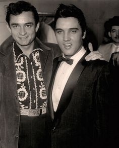 Cash and Elvis