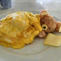 It time for another dose of Fun With Food - where food and creativity collide. #funwithfood #drizzle #cute #creativefood #eggblanket #sleepingbear #yummy