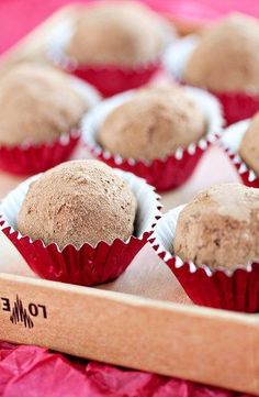 Make simple, homemade truffles with three simple ingredients.