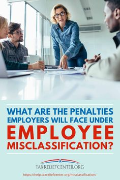 Employee misclassification leads not only to penalties, but also to injustice. Arm yourself with the facts to prevent the inevitable headache. Types Of Taxes, Tax Help, Retirement Benefits, Paid Time Off, Tax Payment, Work Relationships, Best Money Saving Tips, Family Budget, Simple Reminders