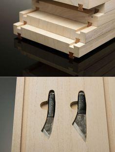 "Traditional Japanese ""Toolbox"" to Die For: Keiji Ashizawa's Hirosaki Knife Box"