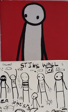 Walk by Stik at Imitate Modern (closes 10 May 2012)