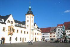 Freiberg (Sachsen) Obermarkt Rathaus