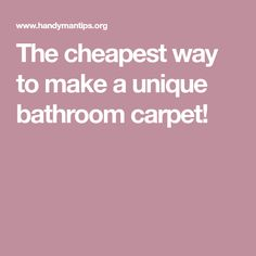 Best 25+ Bathroom carpet ideas on Pinterest | Moss bath ...
