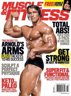 Muscle & Fitness - May 2016 (Secret to Arnold's arms, Total Abs!, Get strong in just 10 minutes): Muscle&Fitness Issue 05 Fitness Body Men, Fitness Home, Muscle Fitness, Health Fitness, Yoga Fitness, Hoist Fitness, Free Fitness, Planet Fitness, Fitness Gifts