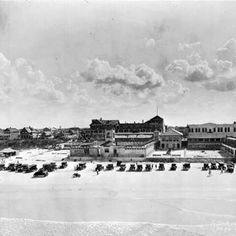 Daytona Beach Fla 1927 Pepp S Pool Bath House South Of The Main Street Pier From Greetings Facebook Page