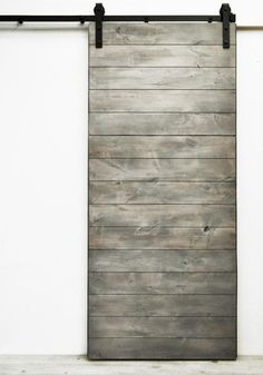 """Simple modern design at its best, the horizontal direction of the solid wood boards creates elegant visual flow.Standard door sizes are 82""""H x 36""""W and the larg"""