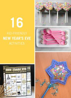 When we think of New Year's Eve, fancy attire, crowded parties, and staying up until midnight usually come to mind. But not for the children, and that doesn't mean your family celebration has to be boring. Cheers with mocktails or make a wishing wand to celebrate with your little ones. Click for kid-friendly activities.