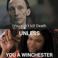 Supernatural fandom. Still sad about that one. #Death #Winchester