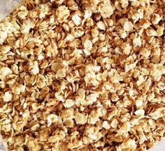 """honey granola -- a la the """"bunches"""" in honey bunches of oats"""