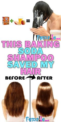 Soda Shampoo: It will Make Your Hair Develop Like It really is Magic!Baking Soda Shampoo: It will Make Your Hair Develop Like It really is Magic! Baking Soda For Skin, Baking Soda Face Scrub, Baking Soda Water, Baking Soda Uses, Baking Soda Shampoo, Baking Soda Hair Growth, Honey Shampoo, Drinking Baking Soda, Hair Loss Remedies
