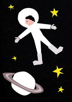 #Card #Spaceman wenskaart dubbel 12x17  from www.kidsdinge.com                     http://instagram.com/kidsdinge        https://www.facebook.com/kidsdinge/ #kidsdinge