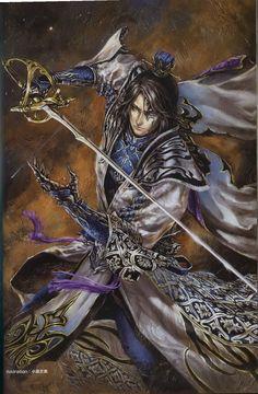 """ Dynasty Warriors 8 - Sima Shi, artwork """