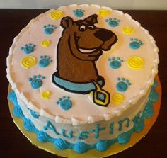Austin's Scooby Doo Cake | That Sweet Ang