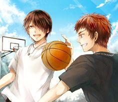 Himuro Tatsuya & Kagami Taiga   Kuroko no Basket #manga