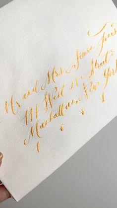 Calligraphy envelope addressing, envelope addressing, wedding envelope addressing, hand calligrapphy envelope addressing, Stationery Shop, Wedding Stationery, Wedding Invitations, Calligraphy Envelope, Envelope Addressing, Handmade Invitations, Wedding Envelopes, Typography, Lettering
