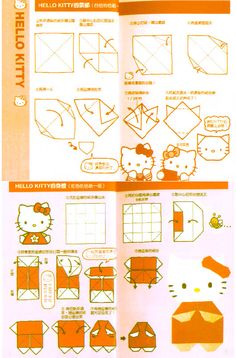 Hello Kitty Recortables muchos
