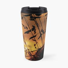 Bring the calming, warm morning sun with you with this georgous Travel Mug. Shine all day! Morning Sun, Other Accessories, Calming, Travel Mug, Warm, Mugs, Prints, Design, Tumblers