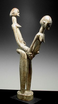 Lobi Sexual Figure, Burkina Faso African Masks, African Art, Vanuatu, Naive, Statues, Aztec Warrior, African Sculptures, Art Premier, Warrior Spirit