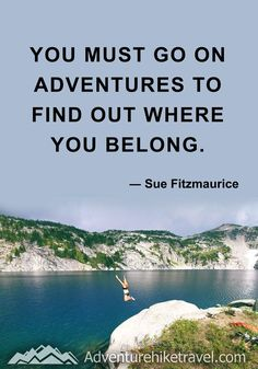 #hiking #quotes #inspirationalquotes #hikingquotes #adventurequotes #outdoors #trekking Hiking Quotes, Travel Quotes, Franklin Falls, Winter Hiking, John Muir, Get Outdoors, Adventure Quotes, Round Trip, Mountain Landscape