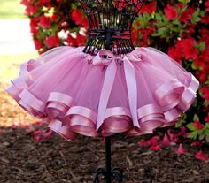 Mauve Satin Ribbon Tutu Yards and yards of ribbon and tulle, your little princess will LOVE this tutu! Fantastic for Birthday parties, Photos, Diy Tutu, No Sew Tutu, Little Princess, Princess Tutu, Princess Birthday, Couture Bb, Ribbon Tutu, Frozen Elsa Dress, Tutu Tutorial