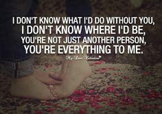 U are everything