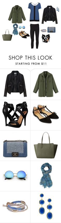 """Plus Size Outfit"" by uptownsweats on Polyvore featuring Zizzi, Michael Antonio, Accessorize, Chanel, Lodis, Lonna & Lilly and Mistraya"