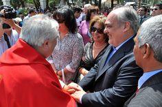 JORNADA DE FERVOR RELIGIOSO: El Gobernador Ricardo Colombi acompañó al pueblo sancosmeño en la celebración de las fiestas patronales #VamosParaAdelante