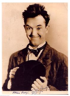 Stan Laurel ++Autogramm++ ++Star aus Dick u.