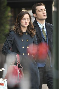 Chuck and Blair... Gossip Girl.