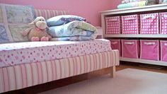 Ana White | Build a Toddler Upholstered Bed | Free and Easy DIY Project and Furniture Plans