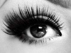 big, luscious lashes