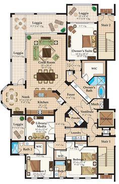 Casa Bahia Residence 01   Homes   Westshore Yacht Club   2930 sq ft, 3bed, 3.5bath, 2car