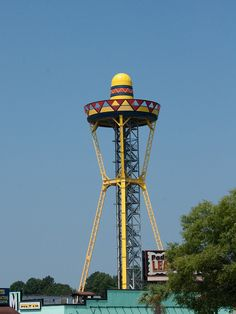 Tall Hat - a sombrero-shaped observation tower in South Carolina beside South of the Border