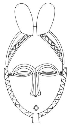 The Yohure are noted for their beautifully crafted masks that combine human and animal features. They have elaborate hairstyles which often include horns, elongated faces with a high forehead, arched eyebrows and a low protruding mouth.    The face of a Yohure mask is outlined with triangular zigzag designs. Yohure masks are used in dance rituals to help villagers come to terms with the death of one of their people. The masks represent the Yu spirits who restore the social balance after a…