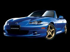 MX5. Blue.