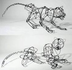 Wire Sculpture - AP Central - Exams: 2012 Studio Art 3-D Portfolio Student Samples