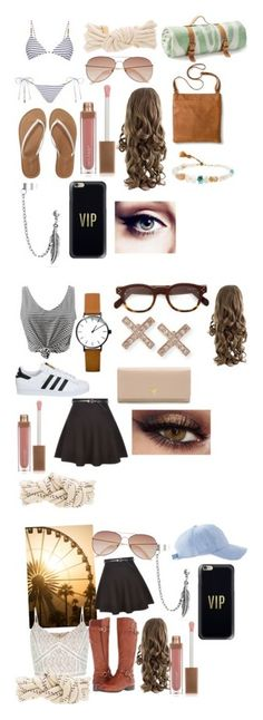 """""""Summer's strolls"""" by someone-is-there on Polyvore featuring Melissa Odabash, Aéropostale, Isabel Marant, H&M, Sara Happ, Casetify, Maslin & Co., Bling Jewelry, Merona and Lena Skadegard"""