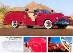 1947 Buick Roadmaster for One Lucky Firechief