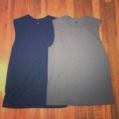 Muscle Tees Size M Brand new, without tags, Hanes men's Premium muscle tanks. Black and grey, size medium Hanes Tops Muscle Tees