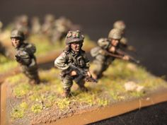 Flames of War, 15mm 101st Airborne, sergeant 1 detail