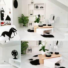 💖 #moderndollhouse #poppenhuis #dollhouse #dollhousereno my new living room furniture diy
