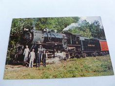 Hocking Valley Scenic Railway Nelsonville Ohio Vintage Postcard No. 33 Train