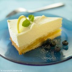 Citronfromagetårta