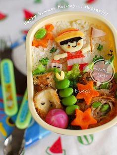 Cute Bento Art!! #Bento