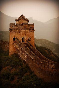 The Great Wall    Between Jinshanling and Simatai  Outside Beijing, China