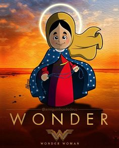 Virgin Mary wonder woman